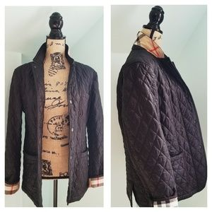 Burberry Quilted Jacket - Mens